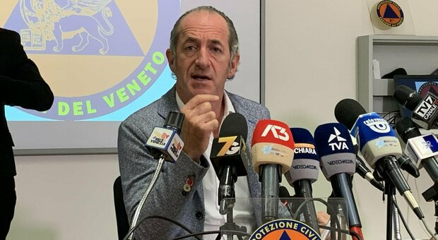 Covid, Zaia: «Assembramenti li risolviamo con ordinanza comune a Regioni confinanti. Mi ha chiamato Mattarella»