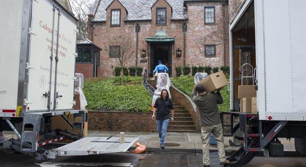 Gli Obama traslocano: ecco la loro nuova residenza di Washington