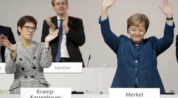 Annegret Kramp-Karrenbauer è la nuova presidente della CDU