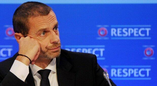 Superlega, Ceferin (Uefa): «Pronti a sospendere i club. Applicare tutte le sanzioni possibili»