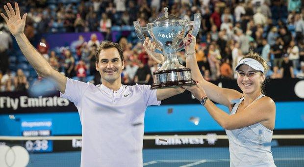 Hopman Cup, è il trionfo di Re Federer: ko la Germania di Zverev