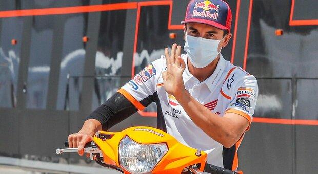 Marquez torna nel 2021: «Devo pensare a recuperare bene»