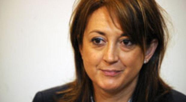L'ex vicepresidente della giunta regionale Carla Casciari