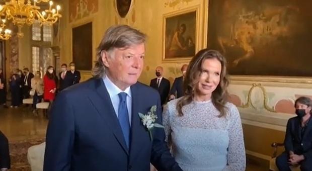 Adriano Panatta e Anna Bonamigo sposi a Venezia