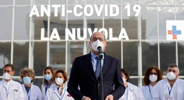 Vaccino Lazio, Zingaretti: «A Pasqua 50mila nuove somministrazioni. I dati cominciano ad essere positivi»