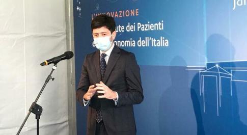 Il ministro Roberto Speranza