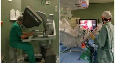 Torino, bimba di 4 anni operata da un robot: asportato tumore al rene. Prima volta in Italia