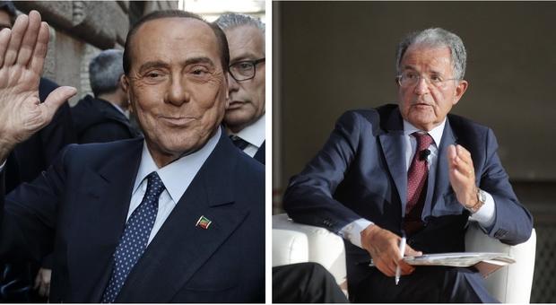 Prodi e Berlusconi, i segnali che allarmano i poli