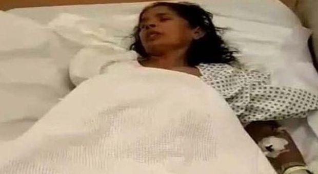 Kasthuri Munirathinam ricoverata in un ospedale di Riad
