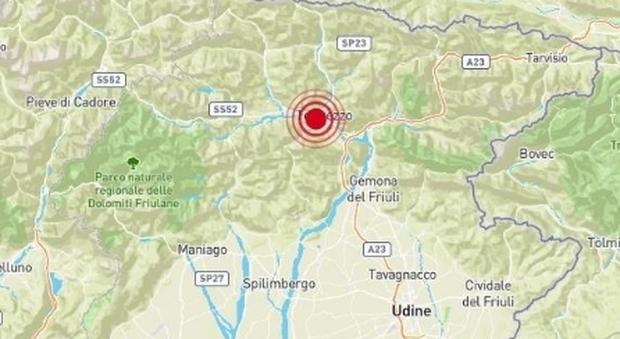 Terremoto in Friuli di 4.0, paura da Udine all'Austria. In serata replica più debole