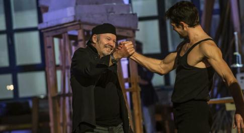 """Vasco Rossi e Roberto Bolle in """"Danza con me"""" il primo gennaio su Rai1"""