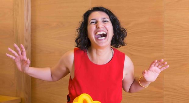 Domenica la Giornata mondiale della risata per la pace nel mondo (nella foto Lara Lucaccioni)