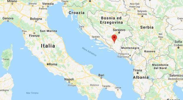 Bosnia, terremoto: scossa di magnitudo 5.4. Paura tra gli abitanti e case evacuate
