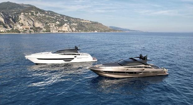 """Rizzardi yachts al salone nautico di Genova con i modelli sportivi """"In"""""""