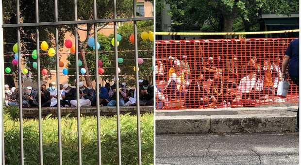 Roma, è il giorno del Ramadan: centinaia di persone lo festeggiano