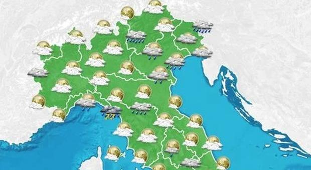 Meteo, si avvicina l'Autunno: piogge nel weekend e temperature in picchiata: allerta gialla per temporali a Milano