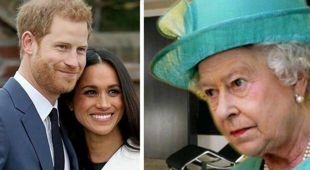 Harry e Meghan contro la famiglia reale ma la regina Elisabetta non li priverà dei titoli