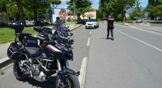 Carabinieri. assegnate al Nucleo Operativo e Radiomobile di Rieti due motociclette di ultima generazione