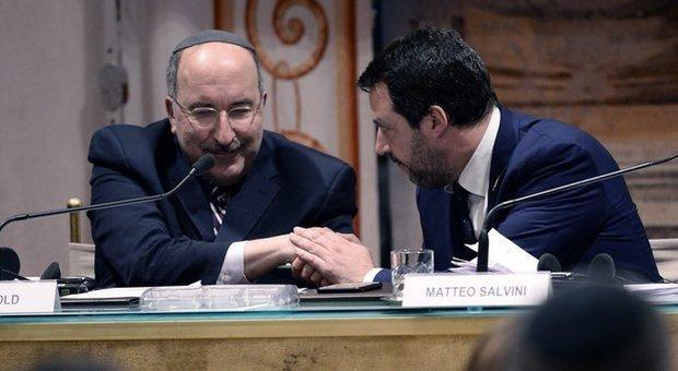 Antisemitismo, Salvini al convegno della Lega al Senato: «Chi vuole cancellare Israele ha in noi un avversario»