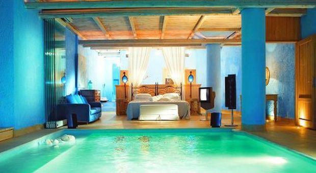 Un tuffo dal letto le camere con piscina pi belle del mondo for Case a buon mercato 3 camere da letto