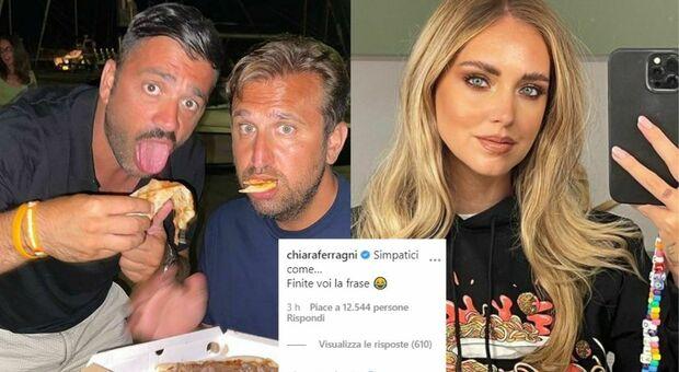 Pio e Amedeo, botta e risposta con Chiara Ferragni: «Simpatici come chi fa l'elemosina in Lamborghini»
