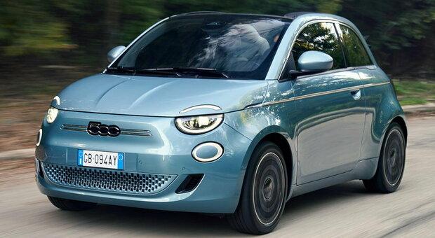 La Nuova Fiat 500 è solo elettrica