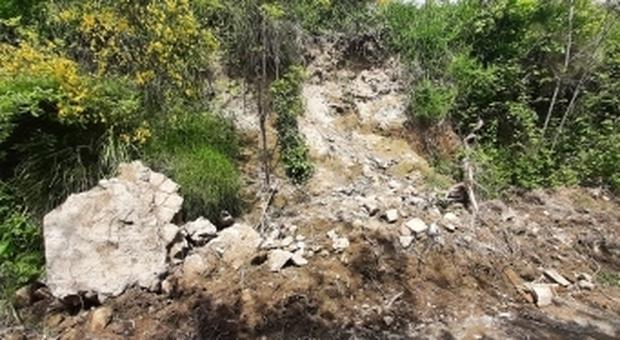 Pozzuoli, crollano antiche rovine romane al Castagnaro