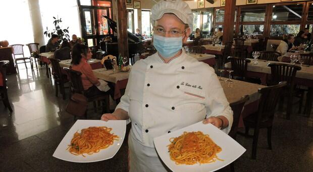 La chef di Genzano Daniela Mancini