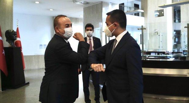 Di Maia ad Ankara: «Importante il dialogo con la Turchia per una soluzione in Libia»