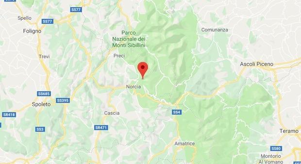 Serie di scosse di terremoto in Umbria: magnitudo 3.0 a Norcia