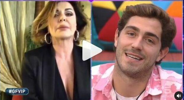 Gf Vip, Alba Parietti bacchetta Tommaso Zorzi: «Mio figlio non è un traditore», polemica social