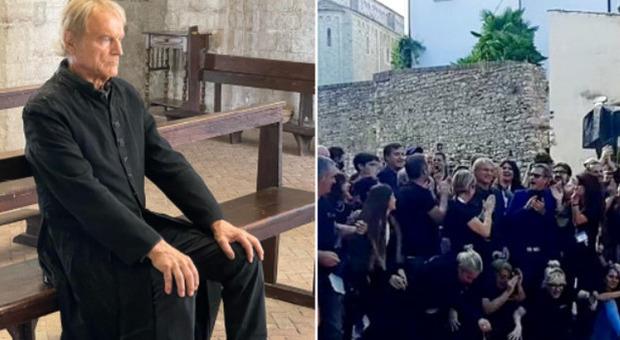 Don Matteo, arriva Raul Bova: ultimo ciak per Terence Hill che si commuove sul set
