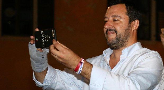 Salvini: «Tria rispetti il contratto. Sì all'ingresso del Tesoro in Alitalia. M5S stia ai patti sulla giustizia»