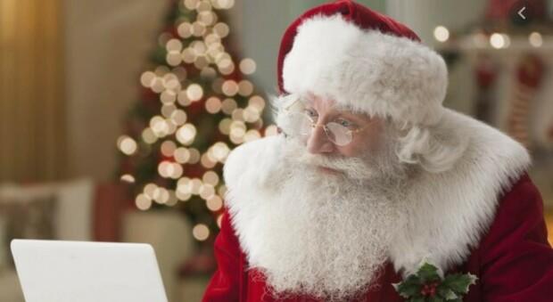 Babbo Natale in smart working: quest anno arriva su Zoom