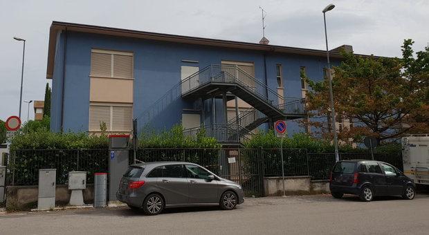 La scuola di via Monte Cervino a Foligno.