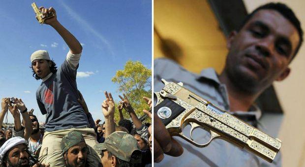 Il ragazzo della pistola d'oro di Gheddafi: «Non fui io a strappargliela»