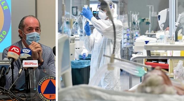 Covid Veneto, Luca Zaia: «Rt sensibilmente calato, meno pressione sulle terapie intensive»