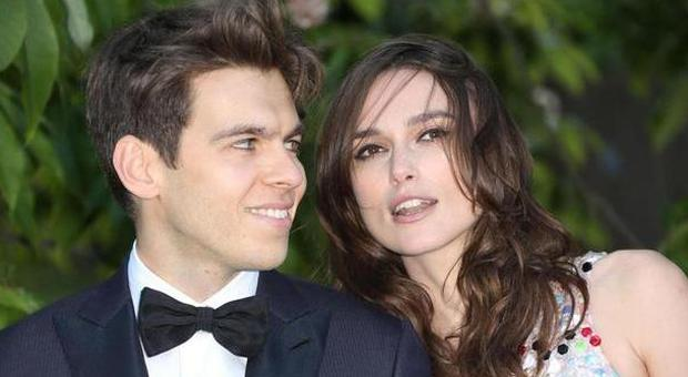 Keira Knightley col marito James Righton (LaPresse)