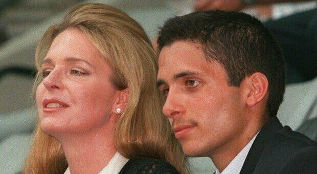 Hamzah bin Hussein e la madre Noor Al Hussein