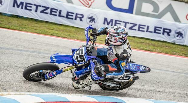 Supermoto, il viterbese Labate sale due volte sul podio al campionato italiano