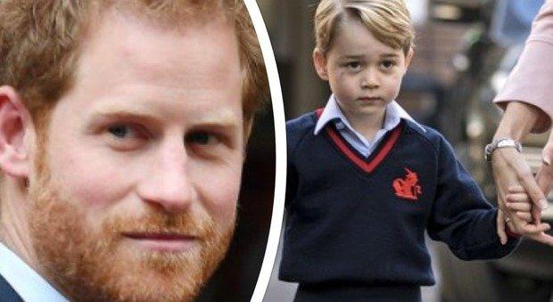Harry e baby George, perché non hanno nessuna foto insieme? Ecco la verità