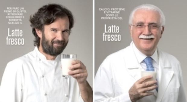 «E' l'ora del latte», al via la campagna del Ministero con Cracco e la Parodi