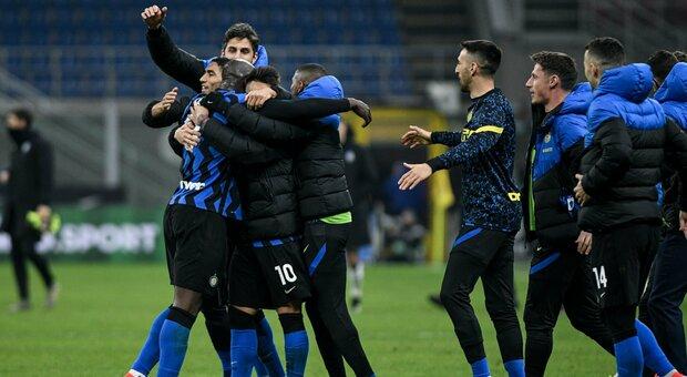 Inter, Conte: «Abbiamo preso punti importanti contro una rivale scudetto»
