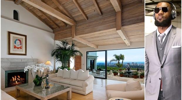 LeBron si fa un regalo da Oscar: compra la villa in cui visse Katharine Hepburn