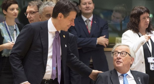 Conte e Juncker a Bruxelles