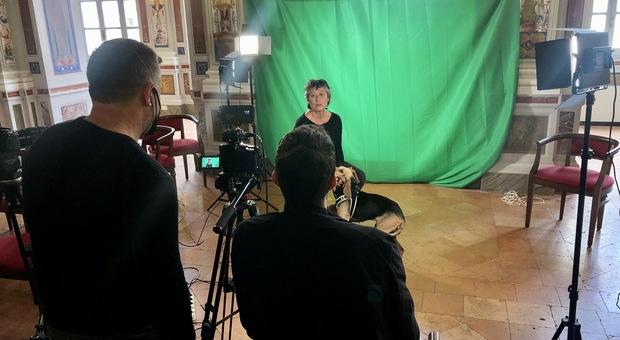 """Orvieto, città amica degli animali ospita le riprese della trasmissione televisiva """"Inseparabili - Storie a 4 zampe"""" de La7"""