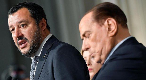 Giorgetti, diktat a Fi: «Alleanza finita con l'ok al governo del presidente». Di Maio: Salvini tolga voti dal freezer