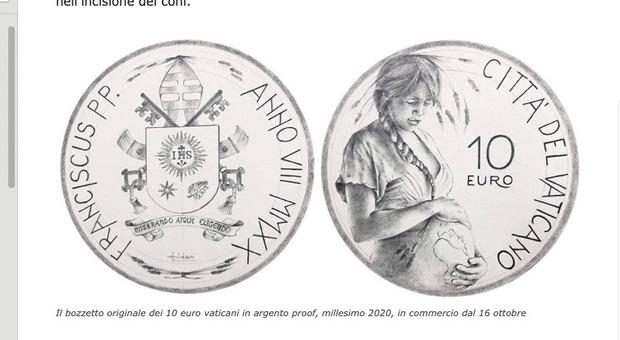 Torna la Pachamama in Vaticano, stavolta su una moneta celebrativa del Papa