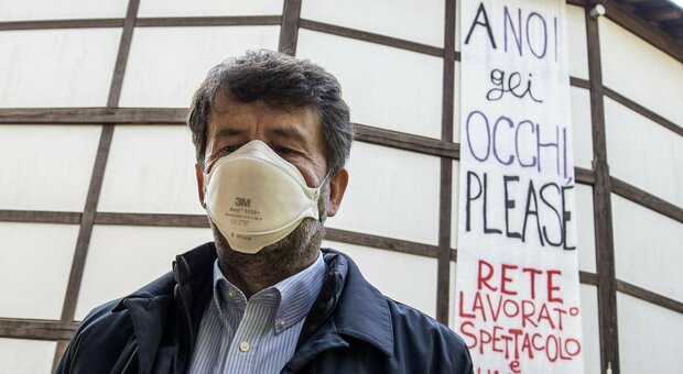 Roma, Globe Theatre a Villa Borghese occupato dai lavoratori dello spetaccolo: «A noi gli occhi please»