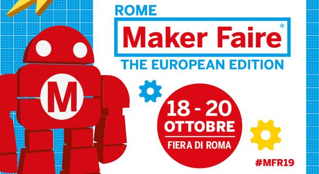 Maker Faire 2019, la festa dell'innovazione alla Fiera di Roma